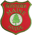 Maine Guide Patch
